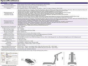 دستگاه آنالایزر ترکیبات بدن InBody i20